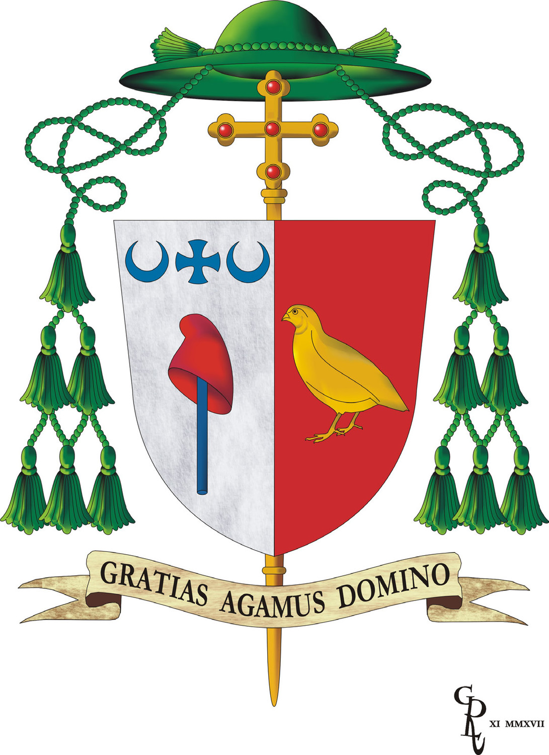 Bishop McKnight's motto and coat of arms | The Catholic