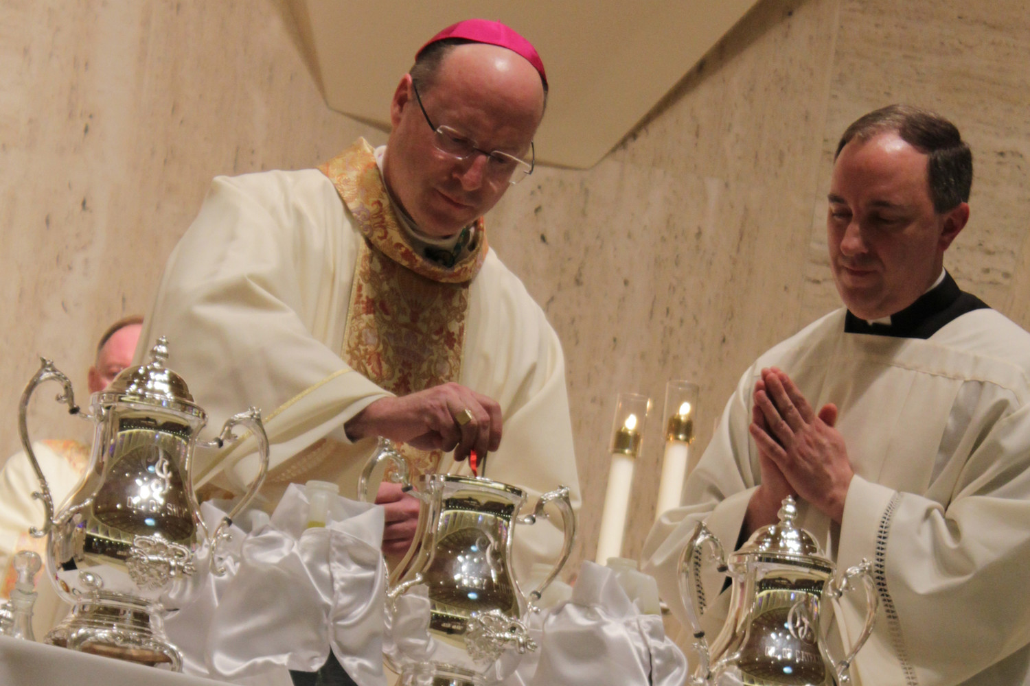 Bishop McKnight celebrates first Chrism Mass in diocese