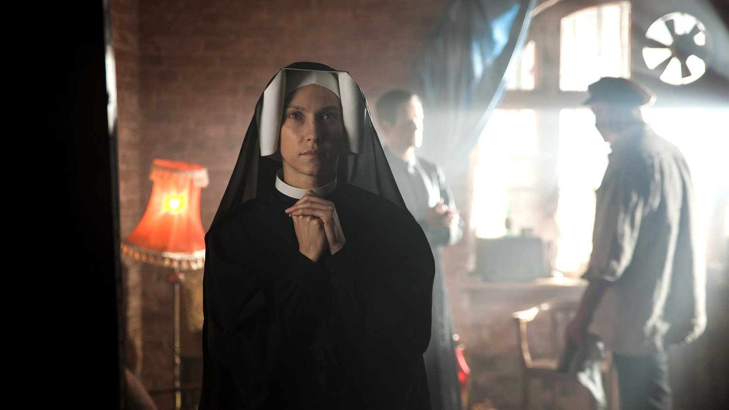 "Kamila Kaminska stars in a scene from the movie ""Love and Mercy: Faustina."" The new film on the life of St. Faustina Kowalska, the Polish nun whose visions of Jesus led to the Divine Mercy devotion, will have a one-night-only showing Oct. 28, 2019, at about 700 screens across the United States."