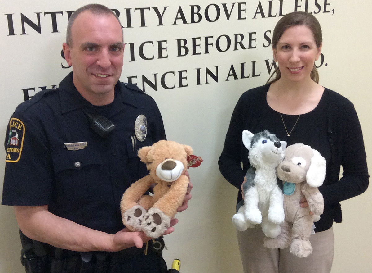 Penn State Students Collect Stuffed Animals For Police To Give To
