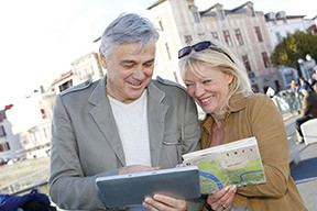 When traveling, be sure to look for senior discounts on attractions, events and meals.
