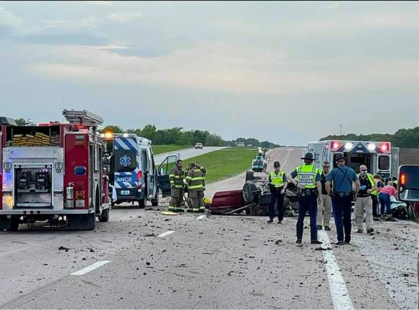 Road rage, the suspected cause of an accident on May 8