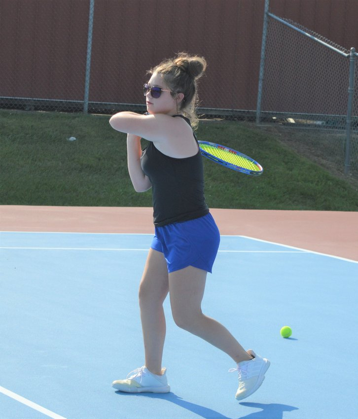 Carley Combs and Company will be fun to watch this Fall. The tennis season starts Monday, Aug. 30 at Knob Noster. Most matches start at 4:30 p.m. Their first home match is Wednesday, Sept. 1 vs Bolivar (JV). Always double check schedules, as you know they often change.