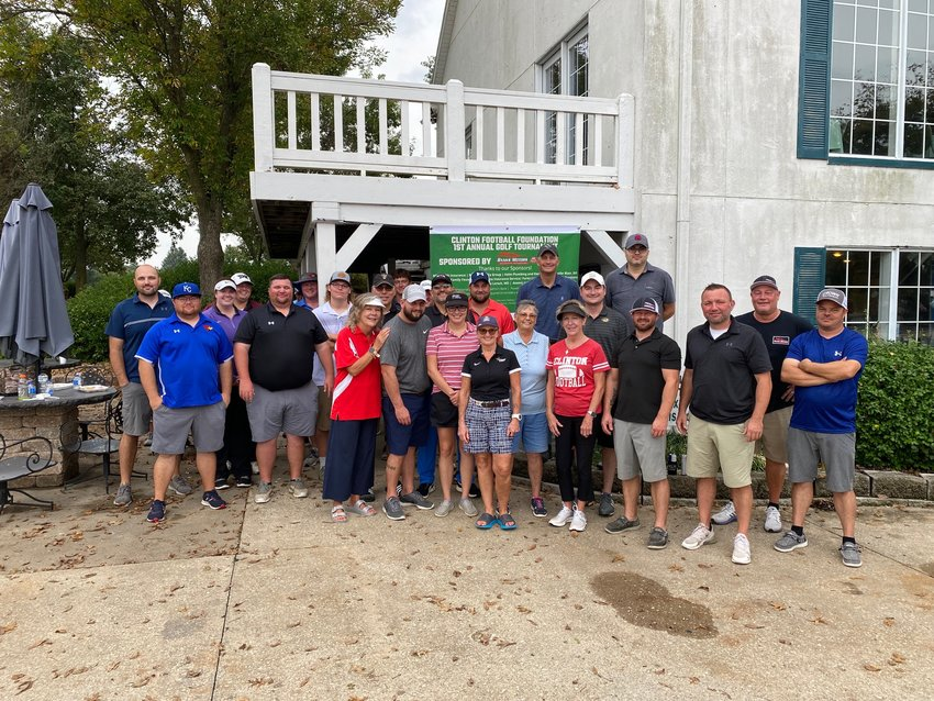 SUPPORT WAS IN ABUNDANCE over the weekend as the Clinton Football Foundations' 1st Annual Golf Tournament saw a great turnout!