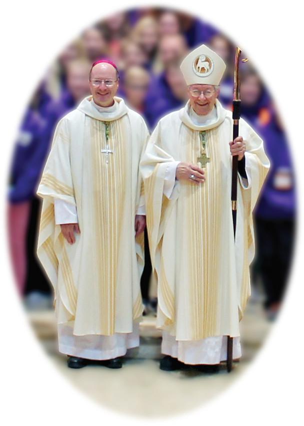 Bishop W. Shawn McKnight and Bishop John R. Gaydos