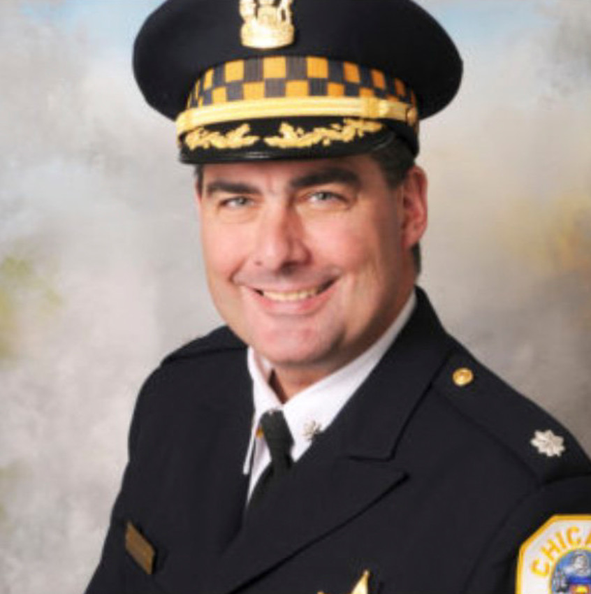 """Chicago Police Cmdr. Paul Bauer, who was shot to death while trying to apprehend a suspect Feb. 13, is pictured in an undated handout photo. Chicago Cardinal Blase J. Cupich asked for prayers for Cmdr. Bauer, his family and friends, """"as well as all for those who work to maintain the peace and help the suffering here and around the world."""""""