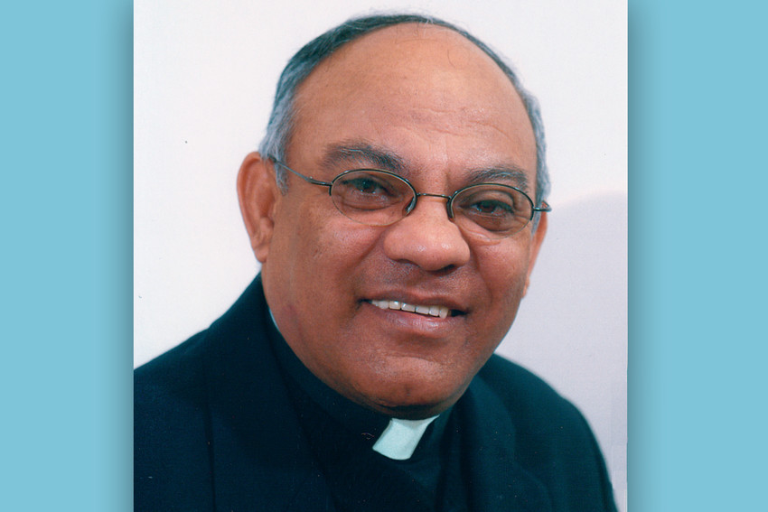Father Dagoberto Noguera is seen in this undated photo. He was brutally murdered in Colombia March 10. After serving at a number of parishes in Brooklyn, New York, he moved to Colombia to retire.