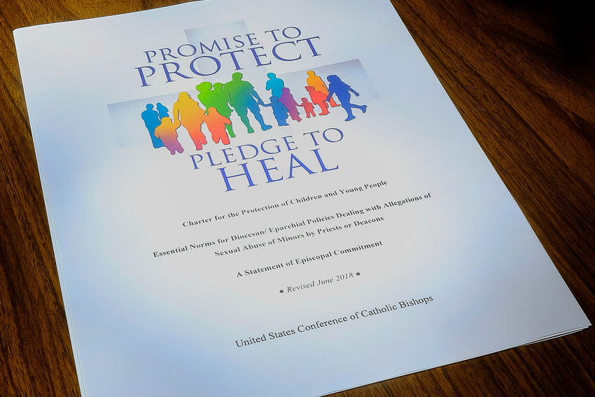 """This is the cover of the USCCB """"Charter for the Protection of Children and Young People."""""""