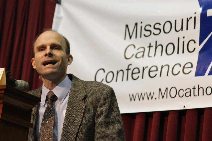 "Dr. Edward Hogan, academic dean and associate professor of systematic theology at Kenrick-Glennon Seminary in St. Louis, gives the keynote address at the 2014 MCC Annual Assembly. He will lead a breakout session titled ""LGBTQ: What's a Catholic to Say?"" at this year's Assembly."