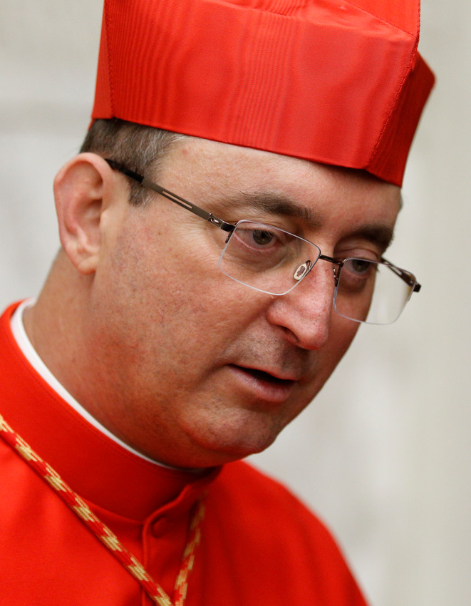 Cardinal Sergio da Rocha of Brasilia, Brazil, is seen in this 2016 file photo.