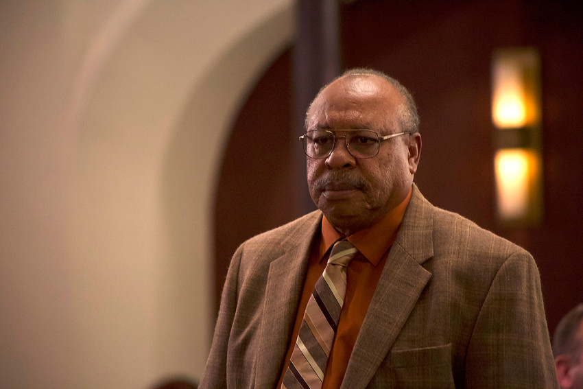 """Earl Billings stars in a scene from the movie """"Gosnell: The Trial of America's Biggest Serial Killer."""" The Catholic News Service classification is A-III — adults. The Motion Picture Association of America rating is PG-13 — parents strongly cautioned. Some material may be inappropriate for children under 13."""