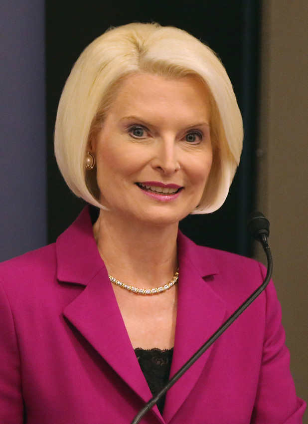Callista Gingrich, U.S. ambassador to the Vatican, is pictured in Washington.