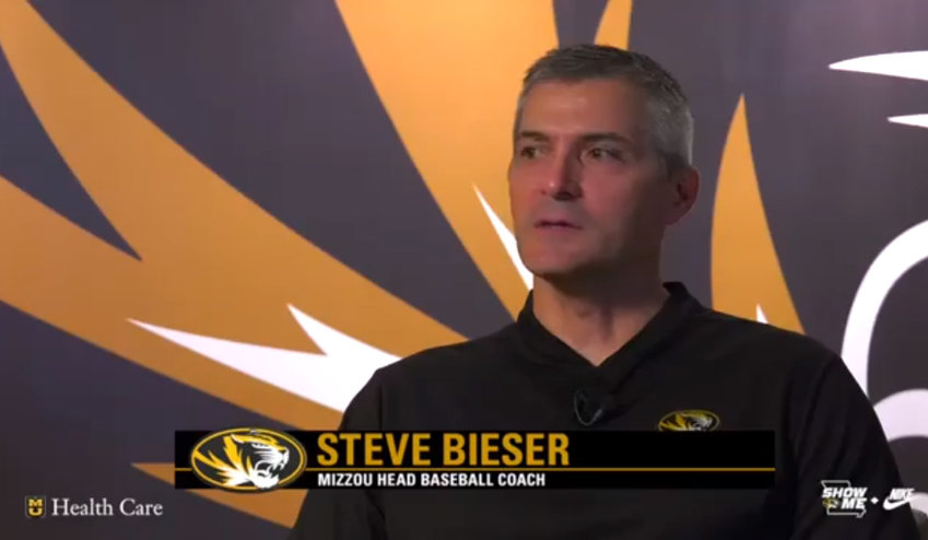 University of Missouri Varsity Baseball Coach Steve Bieser discusses the team's 2019 season and its service in the community, in an interview on the Mizzou Network.