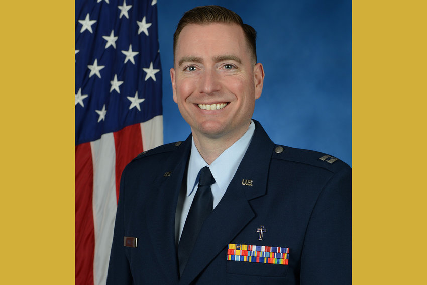 Father Nicholas Reid, U.S. Air Force chaplain