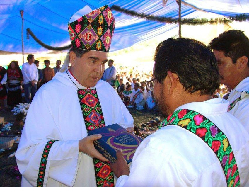 Cardinal-designate Felipe Arizmendi Esquivel of San Cristóbal de Las Casas, Mexico, heads a diocese with a large indigenous population. He is pictured in an undated photo.