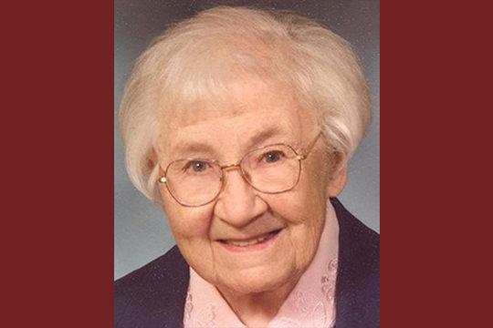 Sr. Mary Evelyn Steinman FSM (1920-2020)