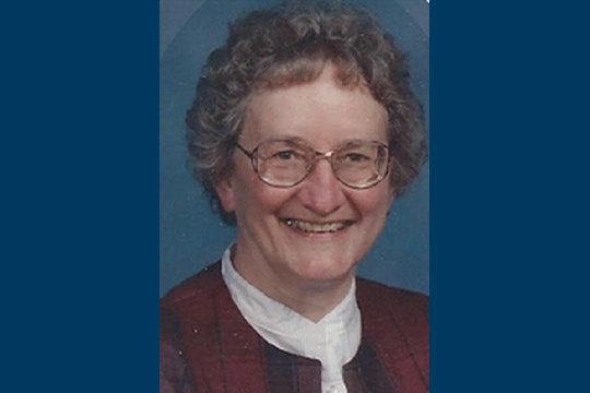 Sr. Nadine Luebbert CCVI (1929-2020)