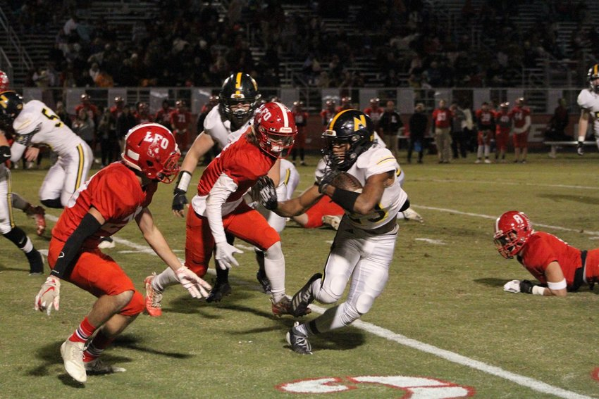North Murray's D'Ante Tidwell (23) will join his teammates at summer football practice which will start on June 8.