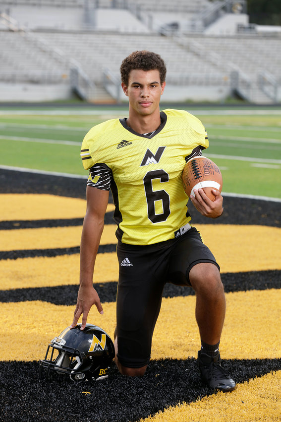 Sophomore wide receiver Michael McDade caught five passes for 236 yards and three touchdowns in the Mountaineers' 49-42 win over LaFayette on Friday.