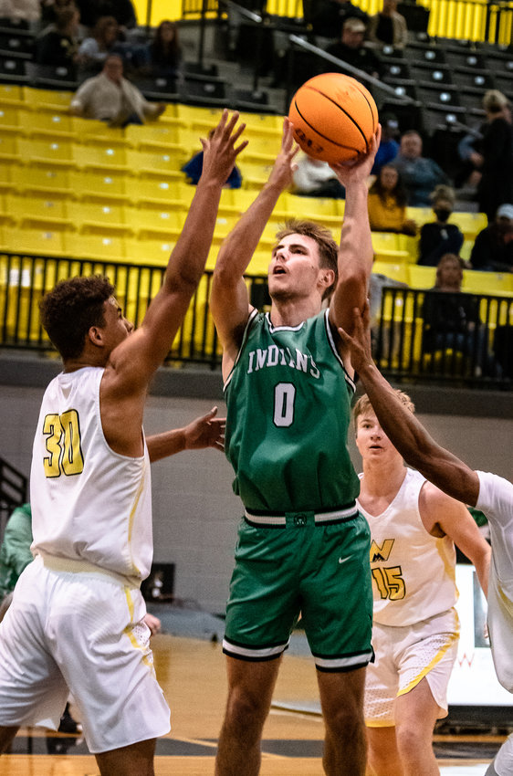 Murray County's Brannon Nuckolls had 29 points and 10 rebounds in a win over Adairsville. The senior followed with 13 points against Northwest Whitfield on Monday.