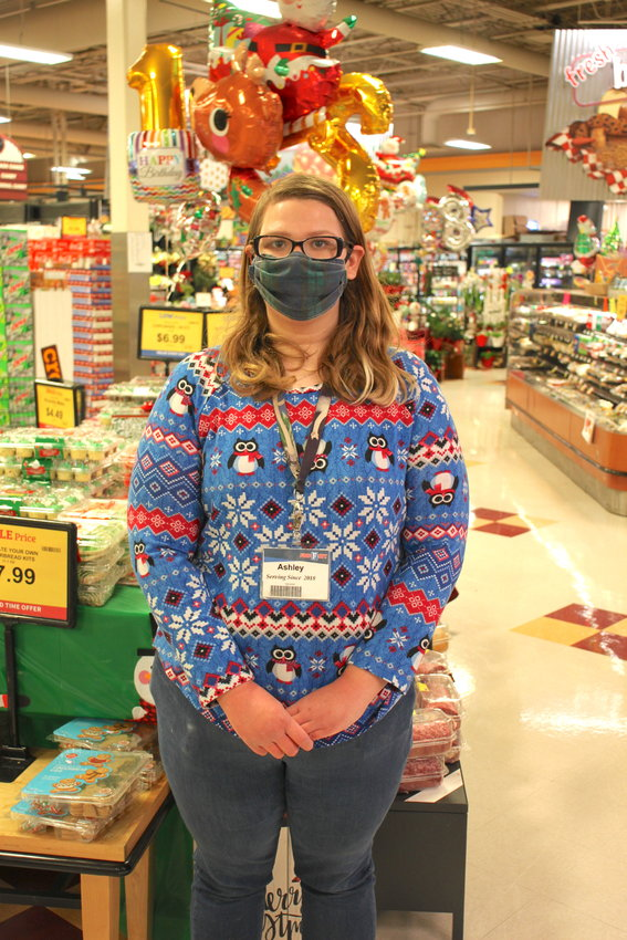 Ashley Findley of Chatsworth has been recognized by her employer, Food City, for her 'outstanding volunteerism.'