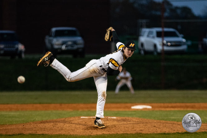North Murray sophomore Daniel Skojac has emerged this season as one of the better starting pitchers in Region 6-AAA.