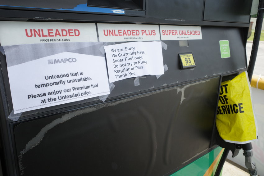 This has become a common sight for many commuters in Murray County. The availability of gasoline in the area has been erratic in the days following the ransomware attack on Colonial Pipeline. Many county businesses were still out of gas as of Tuesday morning.