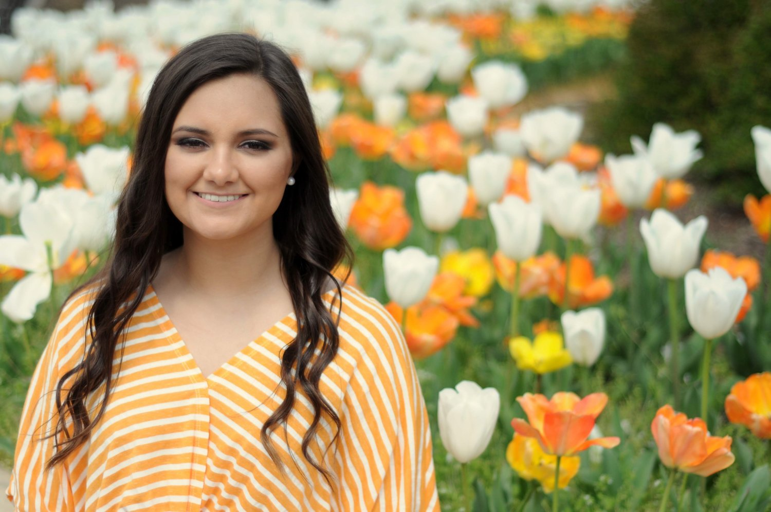 Adella Lonas was recently named a Farm Credit Scholar at UT.