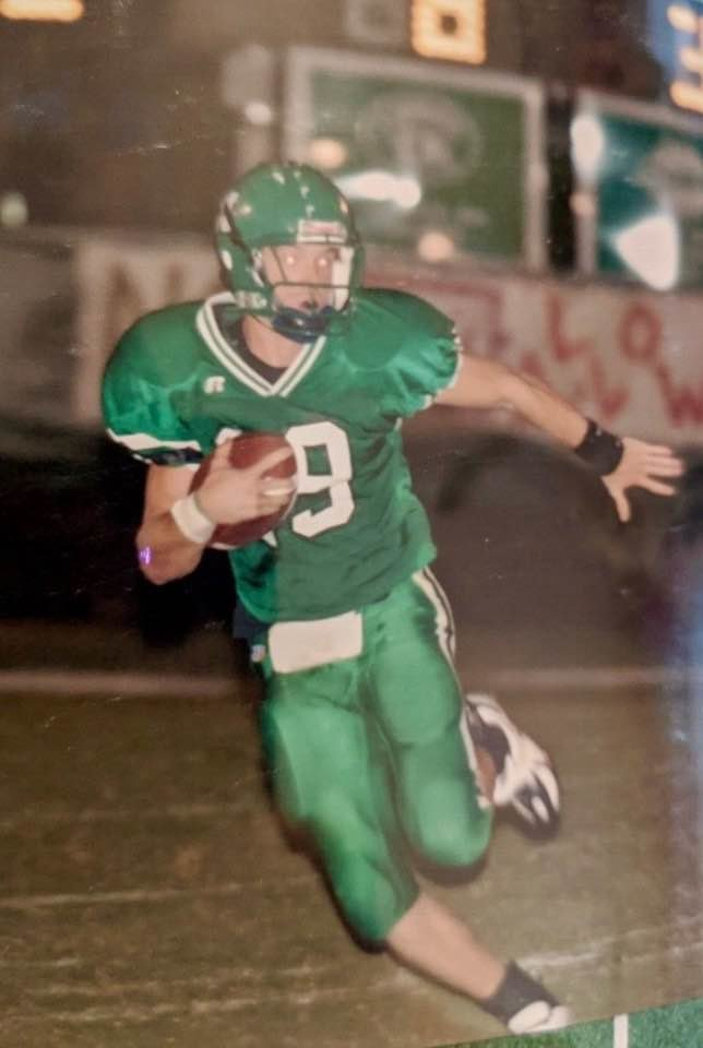 Cody Rainey played quarterback for MCHS in the early 2000s.