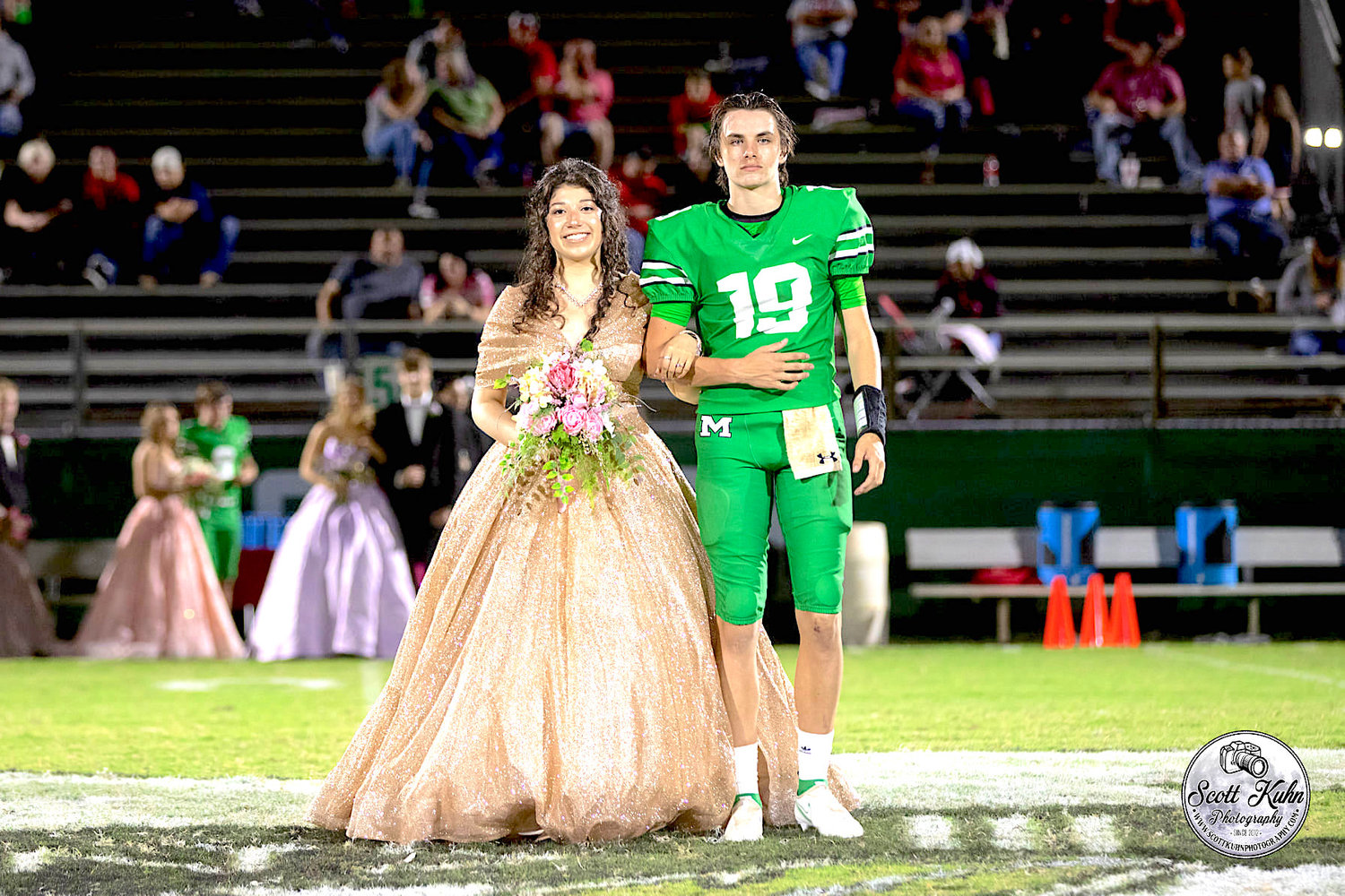 Junior Princess Jessica Alonzo and escort Tyson Leonard