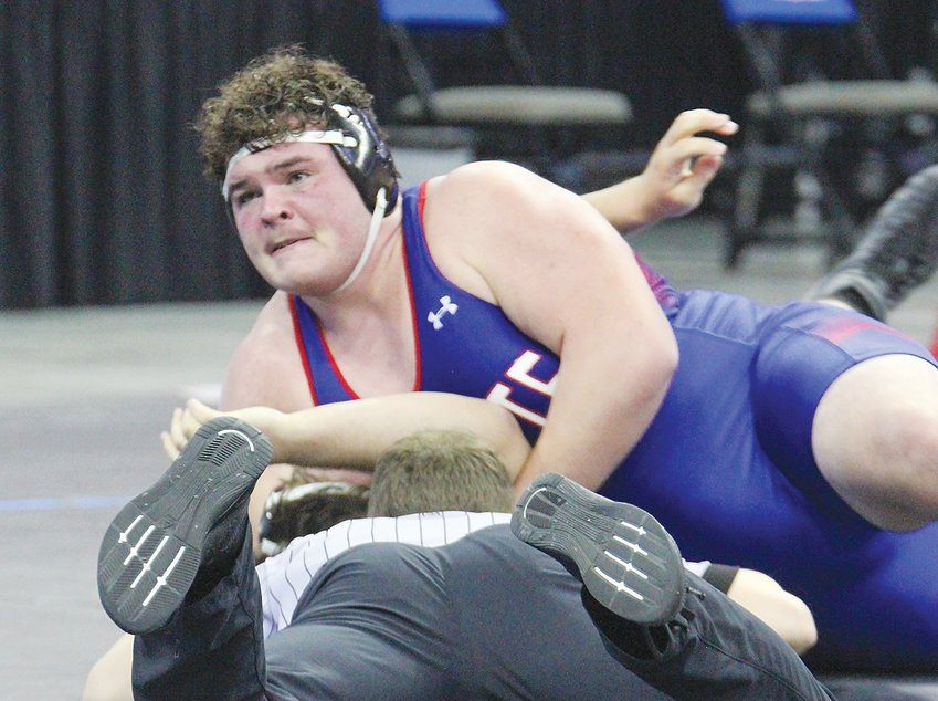 Jason Uden of Crete earned fifth place in Class B at 285 pounds at state wrestling.