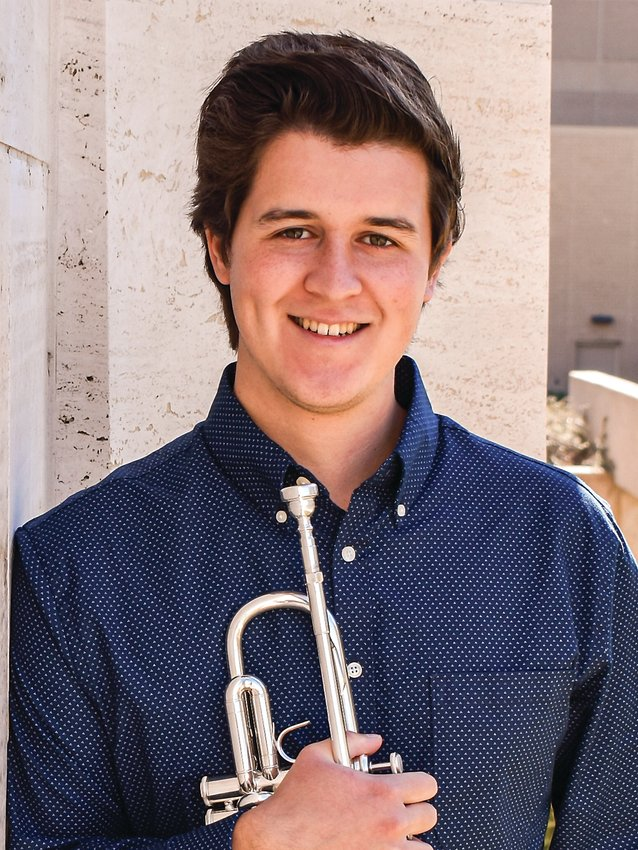 Exeter Milligan's new K-12 music teacher Mark Perez. Perez graduated in the spring of 2021 from the University of Nebraska Lincoln with a bachelors degree in music education.