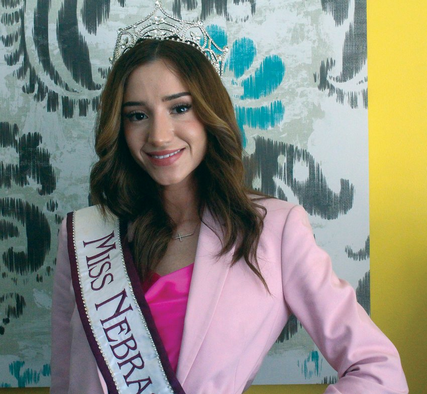 Barbara Ortiz was crowned Miss Nebraska Latina at the pageant in Bellevue on Sept. 25. Ortiz is preparing to compete in the national level of the Miss Latina pageant.