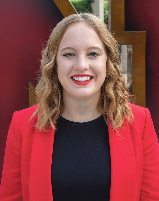 Friend's Madison Zumpfe was one of 10 finalists for the University of Nebraska-Lincoln homecoming queen.
