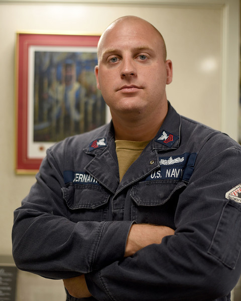 """Adairsville native Petty Officer First Class Donald """"Tripp"""" Abernathy is stationed in Rota, Spain."""