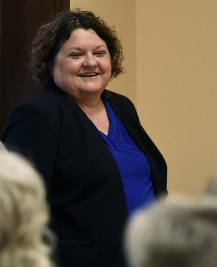 """Lisa M. Russell spoke Wednesday at the Bartow History Museum about her book """"Underwater Ghost Towns of North Georgia."""""""