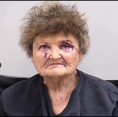 Evelyn Dolores Nowell, 73, of Cedartown, has been charged with first degree vehicular homicide for allegedly causing a chain-reaction crash on I-75 Sunday night that resulted in the death of a 56-year-old Emerson woman.