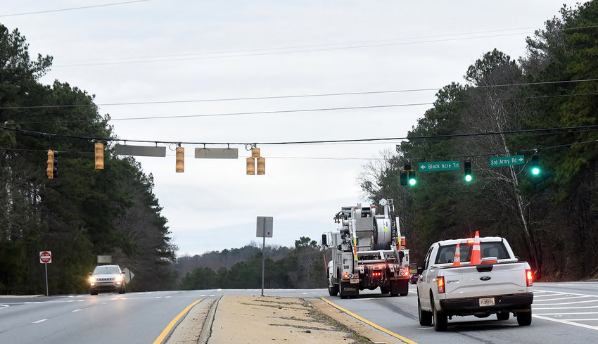 Bartow County officials are pushing for a redesign of the long-delayed Third Army Road interchange project, which would provide Paulding County commuters I-75 access through the southern tip of Bartow.
