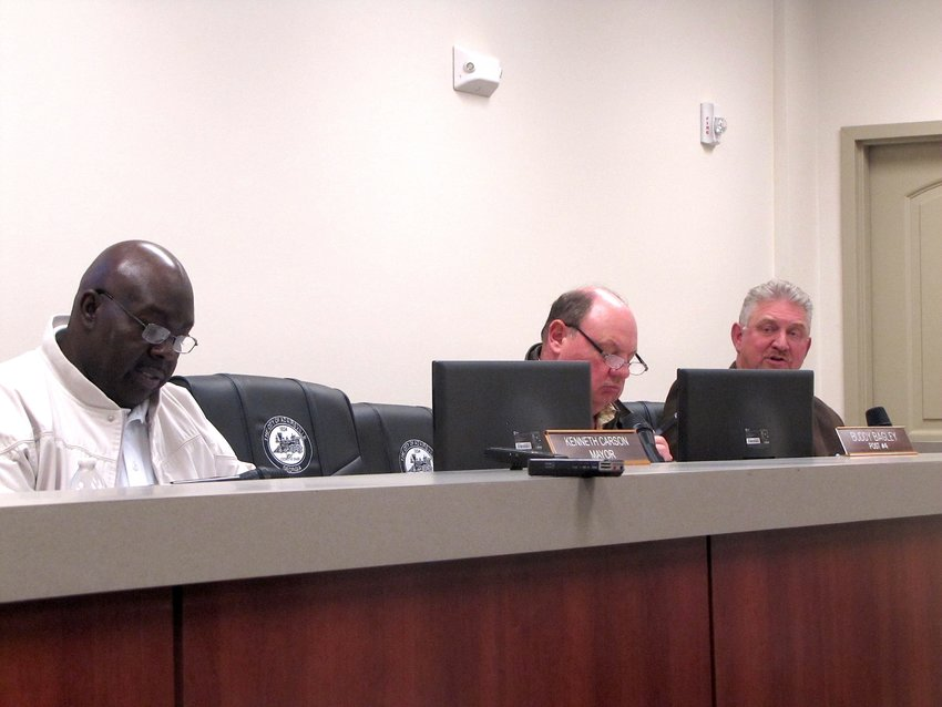 """At the first public meeting of the year on Thursday evening, the Adairsville City Council approved a motion allowing its city manager to enter into an agreement with a """"low responsive responsible bidder"""" to complete a Downtown Development Authority master plan."""