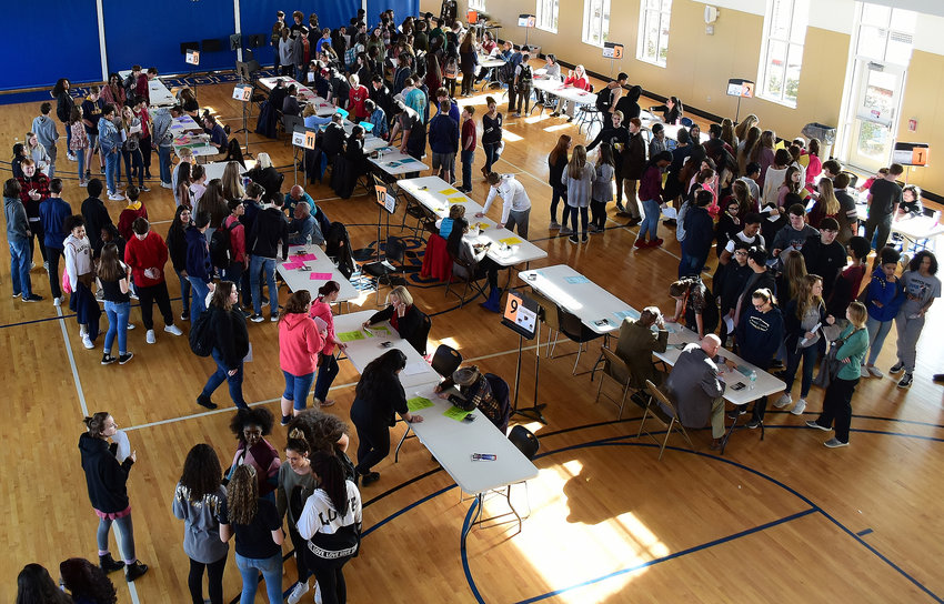 Bartow County and Cartersville City high school freshmen attended last year's Reality Store at Georgia Highlands College to learn what their life might be like when they're 25.