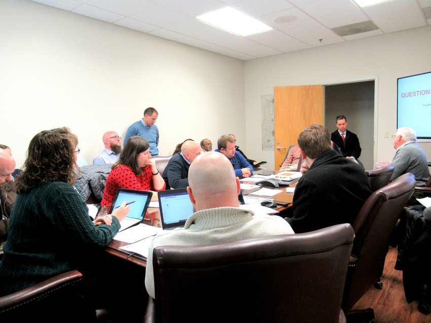 GDOT, county and city representatives gathered for last week's Cartersville-Bartow Metropolitan Planning Organization Technical Coordinating Committee meeting.