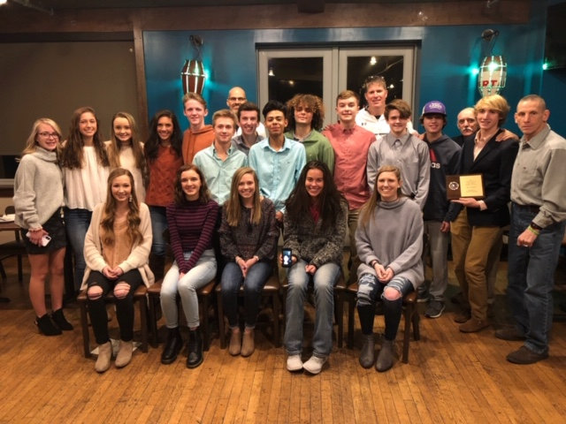Cross country athletes from Woodland and Cartersville were honored for being among the top runners during the 2018 season at a the Wire 2 Wire Bartow County Elite 10 awards banquet Tuesday at Mellow Mushroom.