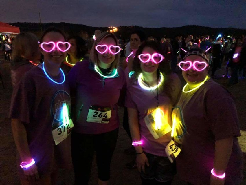 Last year's Glow Run generated $25,000 for Bartow Family Resources.