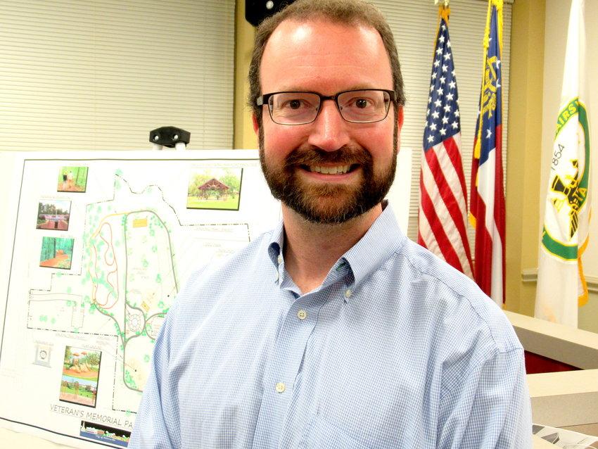 Richard Osborne, 41, became Adairsville's community development director about six months ago.
