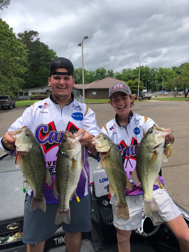Cartersville High juniors Chandler Shook and Caz Smith won the Amateur High School Bass Anglers Tournament on Saturday at Lake Guntersville, Alabama. The champions had a winning weight of 18 1/2 pounds.
