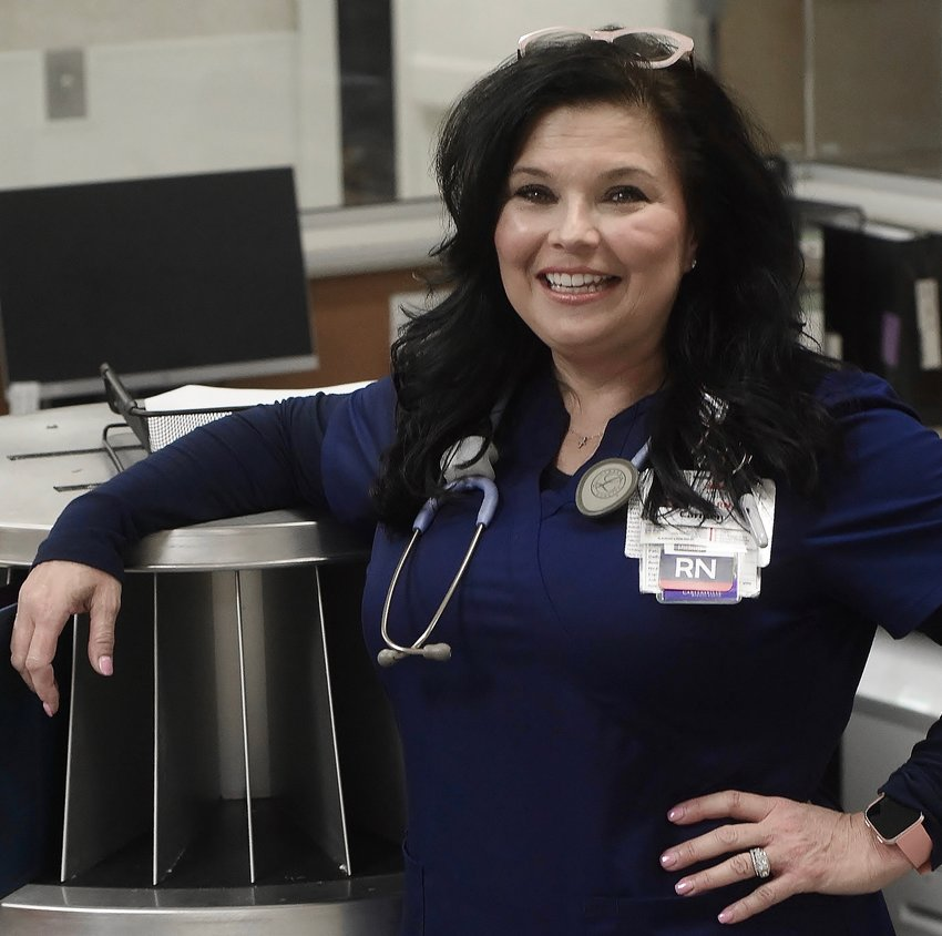 Carmen Green, a registered nurse at Cartersville Medical Center, is known for her singing talents.