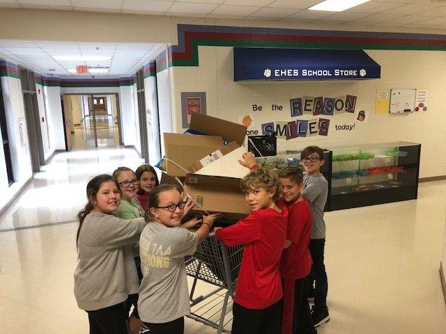Students at Euharlee Elementary won the competitive elementary schools category of  the 2018-19 Keep Bartow Beautiful School Recycling Contest for the sixth year in a row.