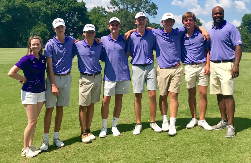 The Cartersville boys golf team finished fourth in the Class 4A state tournament, finishing with a two-day score of 598 Tuesday at Country Club of Columbus.