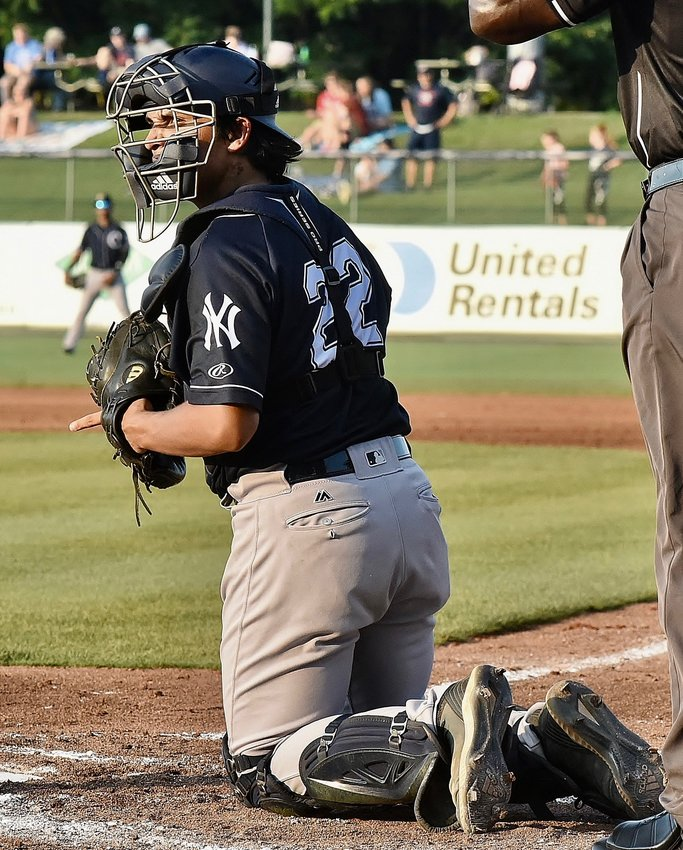 Former Cartersville High standout Anthony Seigler made his Charleston RiverDogs debut June 10 in Rome. Since joining the New York Yankees Class-A affiliate, Seigler is hitting .368 with a .520 on-base percentage. He is set to return to Rome with the RiverDogs on June 24-26.