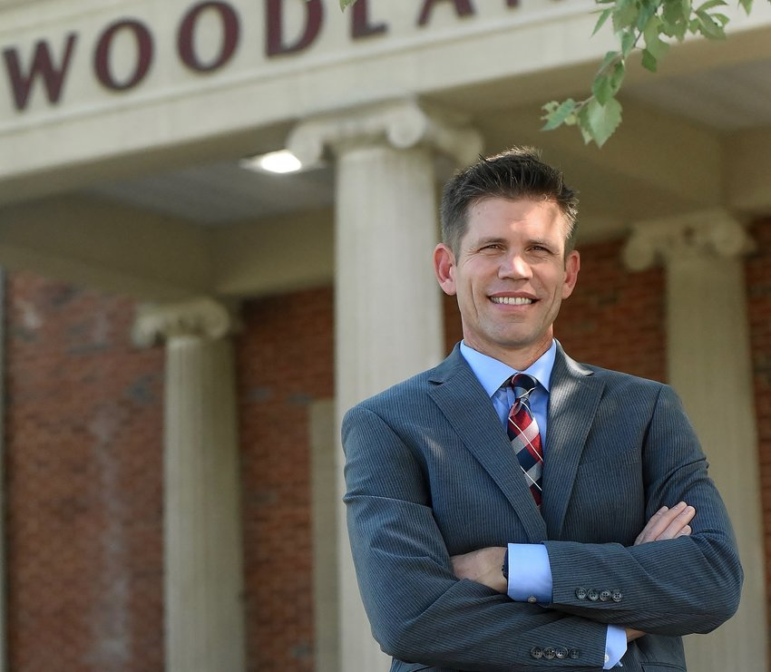 David Stephenson, Woodland High School's new principal, comes to Bartow County from North Cobb High School in Kennesaw.